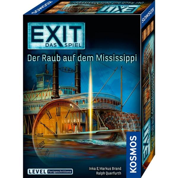 Kosmos Verlag Partyspiel EXIT - Das Spiel - Der Raub auf dem Mississippi