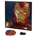 LEGO Art Marvel Studios Iron Man - Kunstbild
