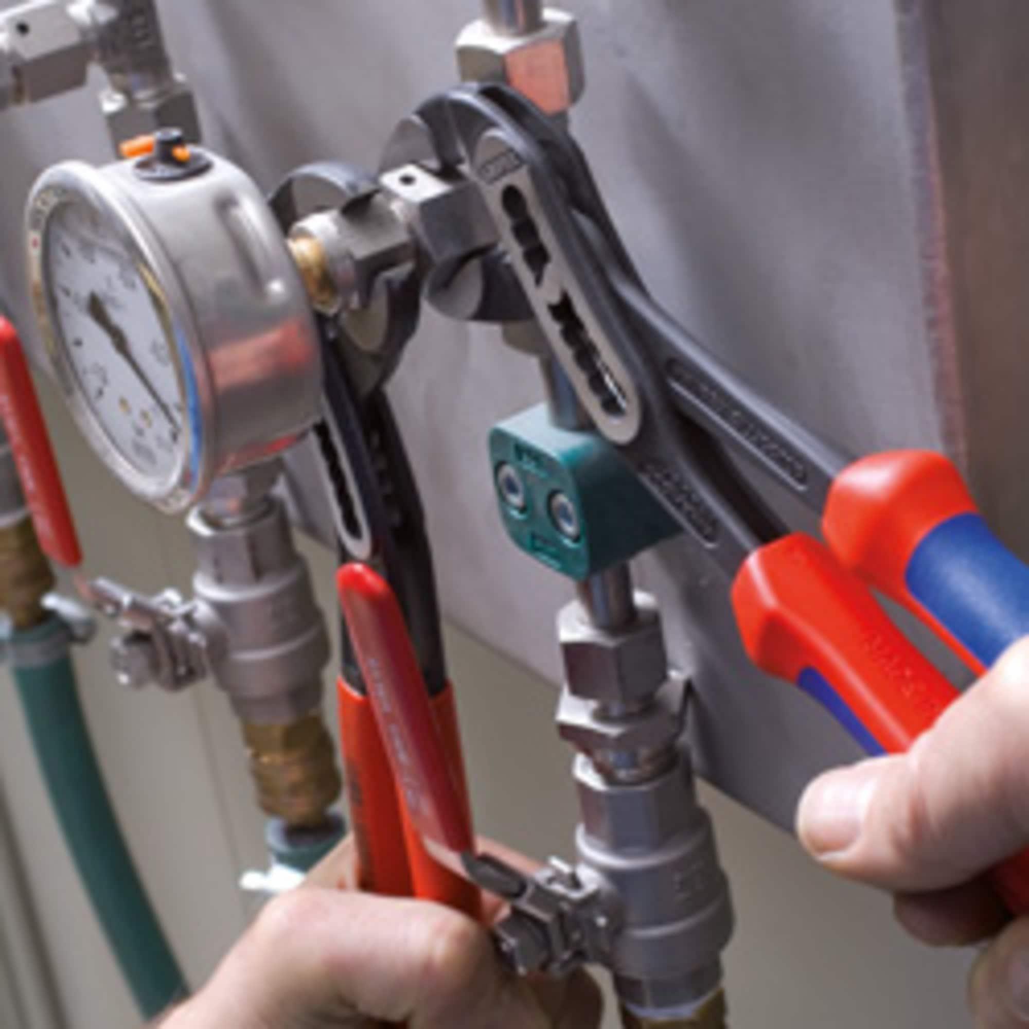 Knipex Rohr- / Wasserpumpen-Zange Alligator 88 02 250, 250mm