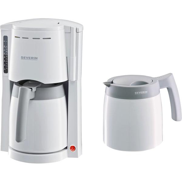 Severin Filtermaschine Kaffeemaschine KA 9233 weiß