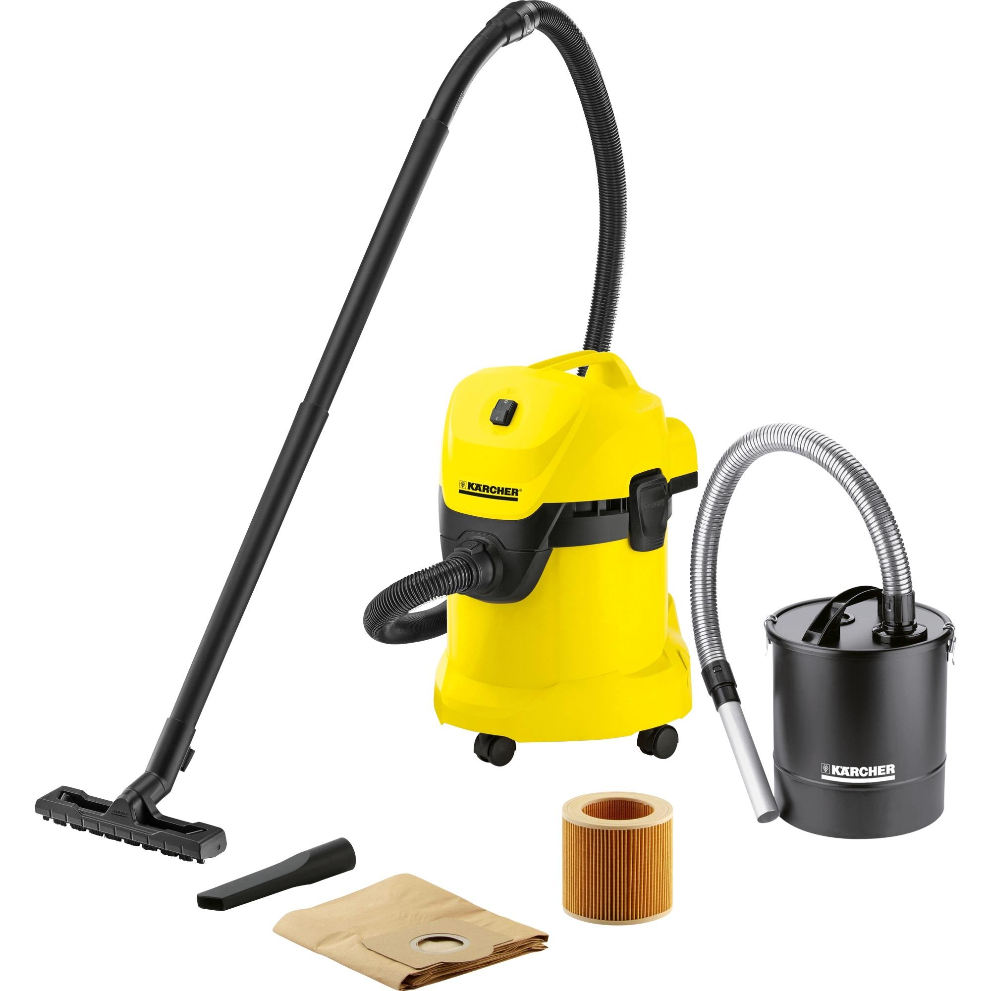 Kärcher Nass- und Trockensauger Mehrzwecksauger WD 3 Fireplace Kit