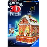 Ravensburger 3D Puzzle Lebkuchenhaus bei Nacht