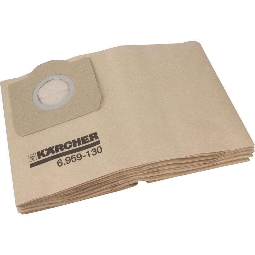 Kärcher Staubsaugerbeutel Papierfilterbeutel für Sauger