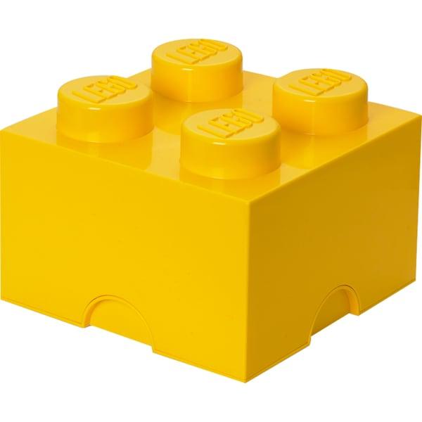 Room Copenhagen Aufbewahrungsbox LEGO Storage Brick 4 gelb