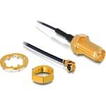 DeLOCK Adapter RP-SMA Buchse zum Einbau > MHF/U.FL Stecker