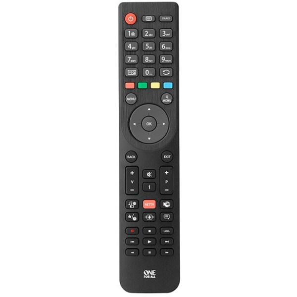 ONE FOR ALL Fernbedienung Telefunken TV Ersatzfernbedienung