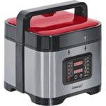 Steba Dampfdruck-Garer DD 1 ECO rot/silber