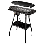 Russell Hobbs Grill Stand- und Tischgrill 2in1 Barbecue & Plancha Classics