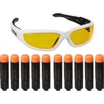 Hasbro Set Nerf Ultra Vision Gear Brille und 10 Nerf Ultra Darts
