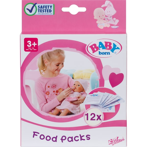 Zapf Creation Puppe BABY born® Nahrung
