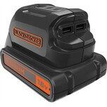 Black & Decker Adapter USB-Ladeadapter BDCU15AN-XJ
