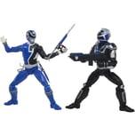 Hasbro Spielfigur Power Rangers Lightning Collection S.P.D. B-Squad Blauer Ranger Vs A-Squad Blauer Ranger