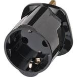 Brennenstuhl Adapter Schutzkontakt D Buchse > UK/DE Stecker