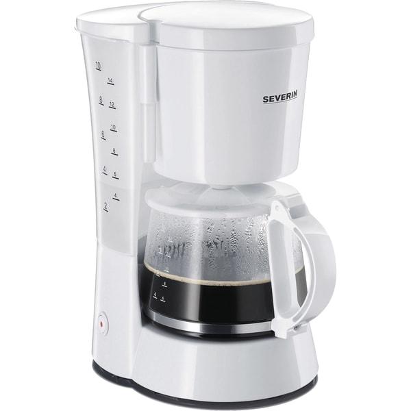 Severin Filtermaschine Kaffeemaschine KA 4478 weiß