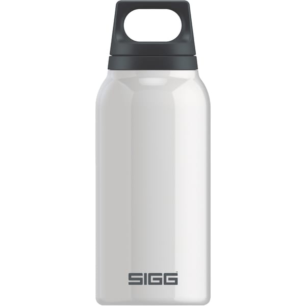 Sigg Thermosflasche Hot & Cold White 0,3 Liter