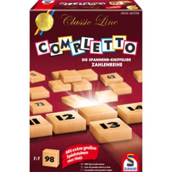 Schmidt Spiele Brettspiel Classic Line: Completto