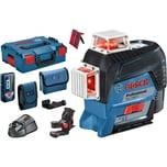 Bosch Linienlaser GLL 3-80 C Professional, Laser-Empfänger LR 7, L-BOXX