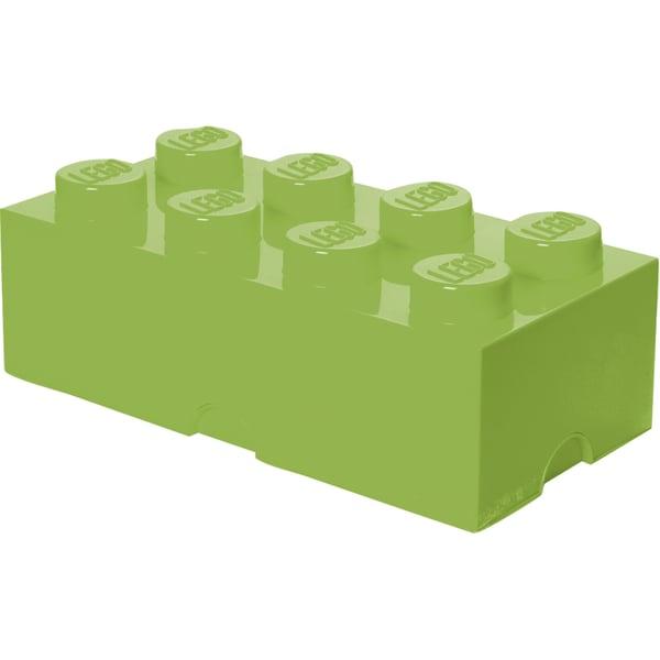 Room Copenhagen Aufbewahrungsbox Lego Storage Brick 8 lindgrün