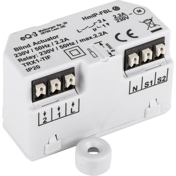 Homematic IP Schalter Jalousieaktor Unterputz