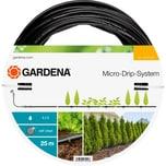 """Gardena Erweiterungsmodul Erweiterung Tropfrohr für Pflanzreihen oberirdisch, 13mm (1/2"""")"""