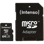 Intenso Speicherkarte microSDXC 64 GB