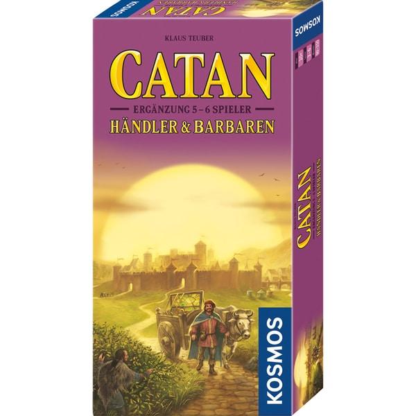 Kosmos Verlag Brettspiel CATAN - Händler & Barbaren Ergänzung für 5-6 Spieler