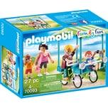 Playmobil Konstruktionsspielzeug Familien-Fahrrad