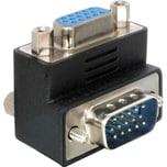 DeLOCK Adapter VGA Stecker/Buchse 90° gewinkelt