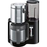 Siemens Kaffeeautomat TC86503 mit Edelstahlkanne schwarz