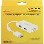 DeLOCK Adapter Displayport > VGA / HDMI /DVI-D