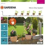 Gardena Tropfsystem Start-Set Pflanztöpfe S