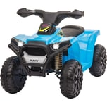 Jamara Kinderfahrzeug Ride-on Mini Quad Runty blau