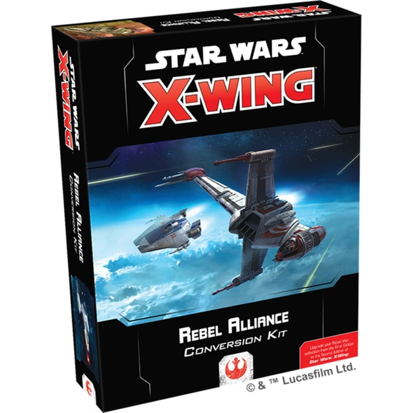 Asmodee Tabletop Star Wars X-Wing 2. Edition: Rebellenallianz Konvertierungsset