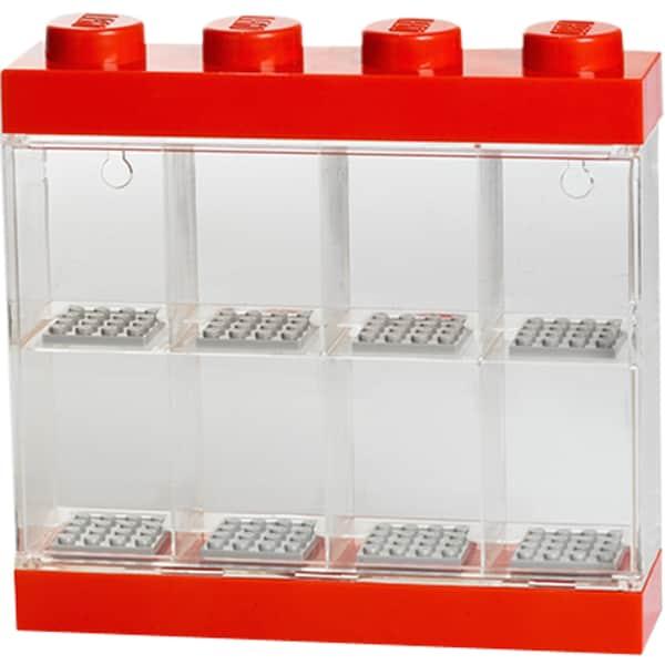 Room Copenhagen Aufbewahrungsbox Lego Minifiguren Display Case 8 rot