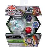 Spin Master Bakugan Starter Pack mit 3 Armored Alliance Bakugan Ultra Haos Trox Basic Darkus Pharol