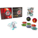 Spin Master Bakugan Starter Pack mit 3 Armored Alliance Bakugan Ultra Haos Trox Basic Darkus Pharol
