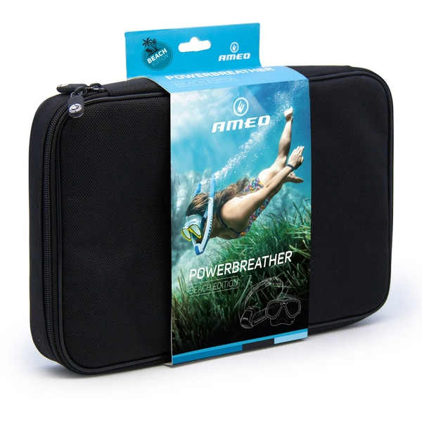 Powerbreather Beach Edition Schnorchel-Set