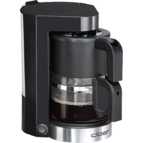 Cloer Kaffeeautomat mit Glaskanne Kunststoff