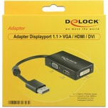DeLOCK Adapter Displayport > VGA/HDMI/DVI-D
