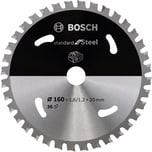 Bosch Kreissägeblatt Standard for Steel, 160mm