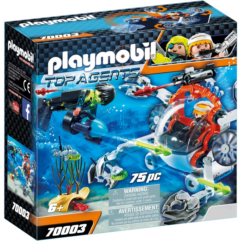 Playmobil SPY TEAM Sub Bot