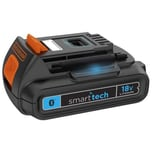 Black & Decker Akku Smart tech Akku 18V/1,5Ah Slidepack