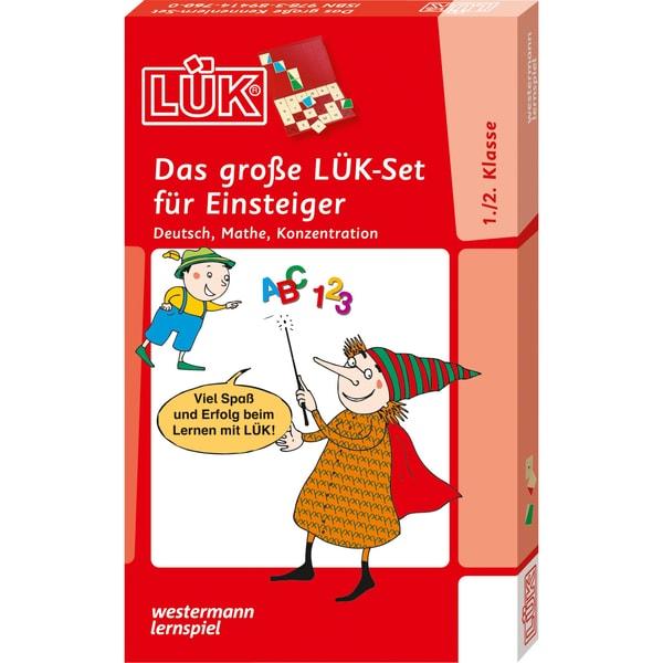 Westermann Lernbuch LÜK - Das große LÜK-Set für Einsteiger