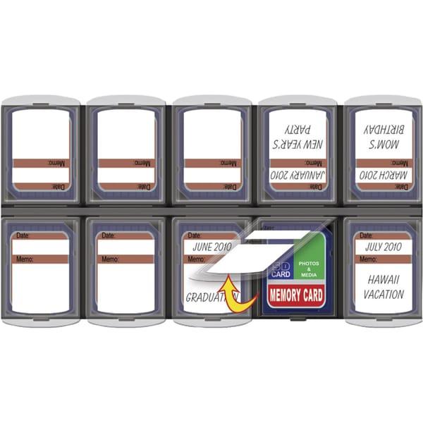 Bilora Aufbewahrung SD Card Organizer