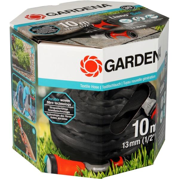 Gardena Textilschlauch Liano 10m Set