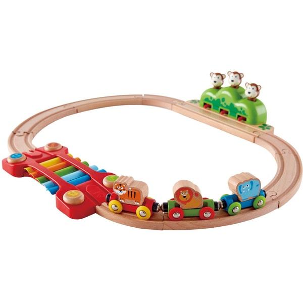 Hape Bahn Kleines Tier-Eisenbahnset