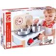 Hape Puppenzubehör 2-in-1 Küchen- & Grill-Set