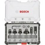 Bosch Rand- und Kantenfräser-Set, 6-teilig