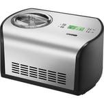 Unold Eismaschine One 1,2 l silber Edelstahl