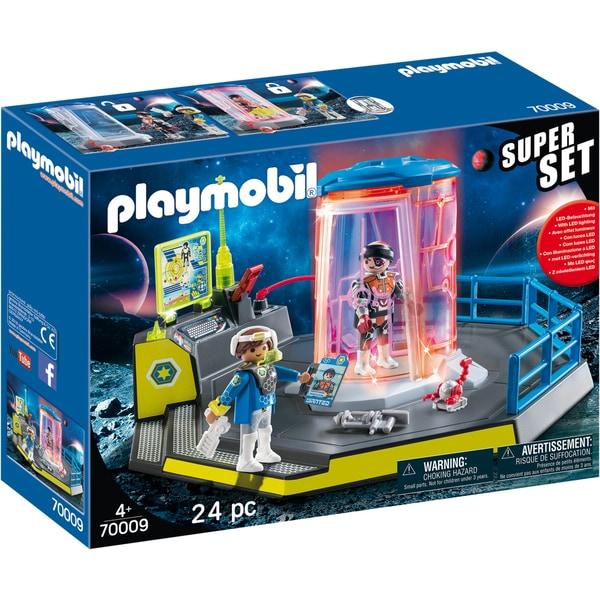 Playmobil Konstruktionsspielzeug SuperSet Galaxy Police Gefängnis